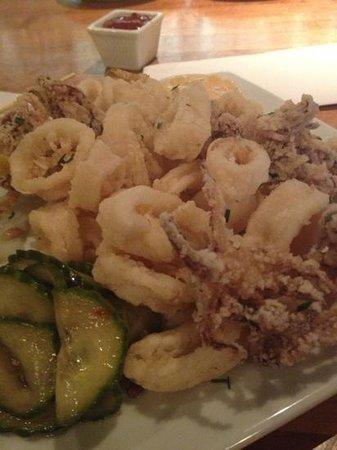 Frontier Cafe: GF calamari