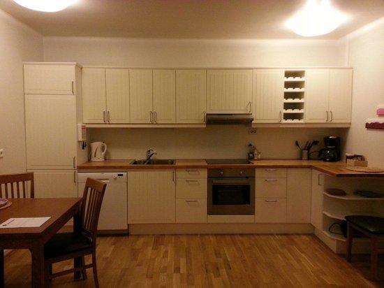 Hansen Apartments: Kitchen