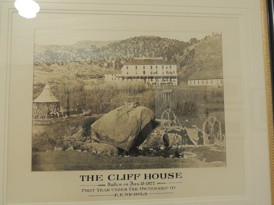The Cliff House at Pikes Peak : history