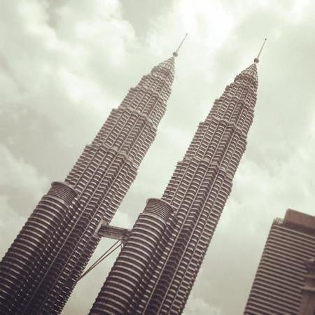 Hotel Maya Kuala Lumpur : amazing view of Twin Towers from our room
