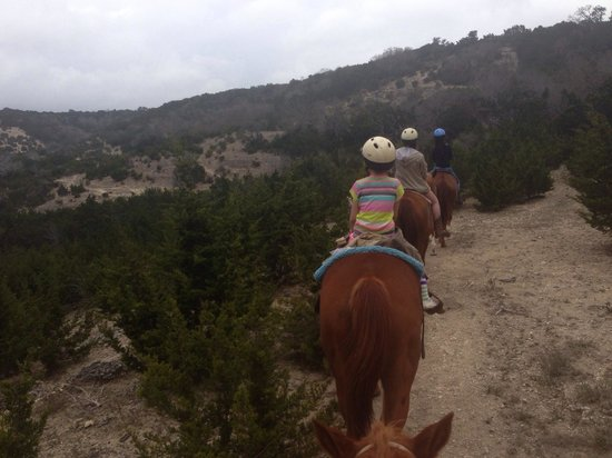Stricker Trail Rides: Breath taking views.