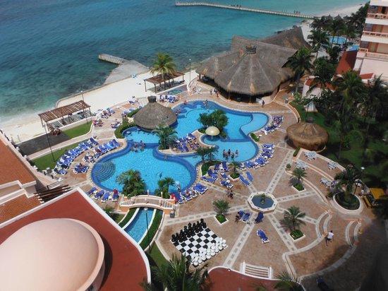 El Cozumeleno Beach Resort: view from room 1918