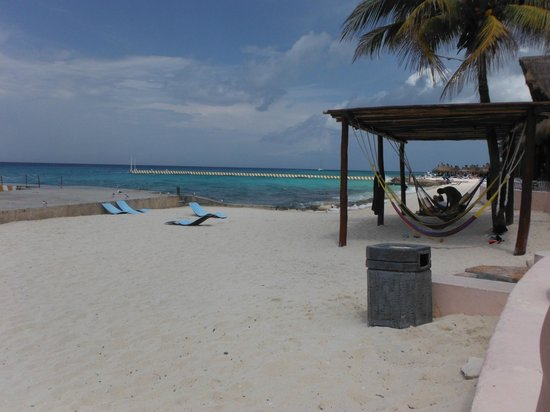 El Cozumeleno Beach Resort : beach area