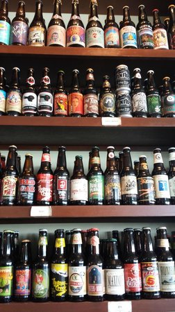 Queen Anne's Revenge: partial beer selection