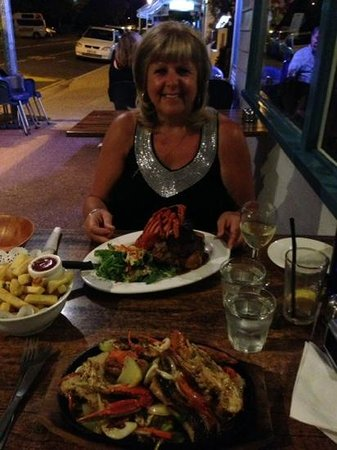 Maisie's Seafood and Steakhouse : Seafood to die for.