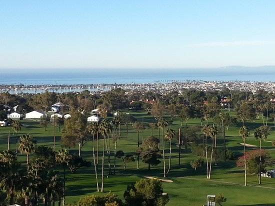 Newport Beach Marriott Hotel & Spa: View from Room 944
