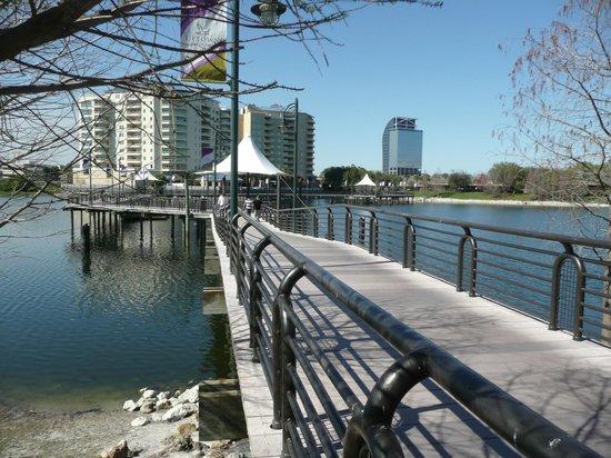 Crane's Roost Park : One of the bridges