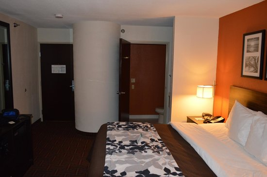 Sleep Inn: View of room
