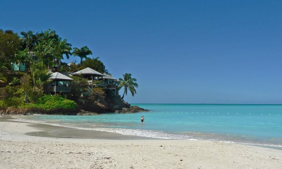Jolly Beach Resort & Spa: swim around the point for yet another perfect beach