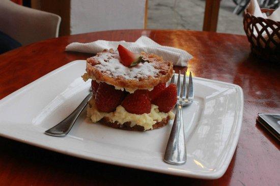 The Cargo Club : Fusion dessert :)