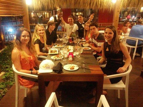 Grand Palladium Bávaro Suites Resort & Spa: Tapeo Spanish restaurant Ravioli is great Great service from Yuddy and Robert
