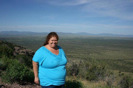 Coronado National Memorial : looking west from Montezumas pass