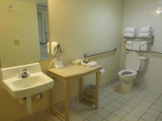 International Palms Resort & Conference Center: Our bathroom