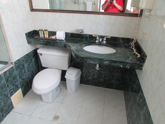 Hotel Richmond Suites: Bathroom in Large Suite