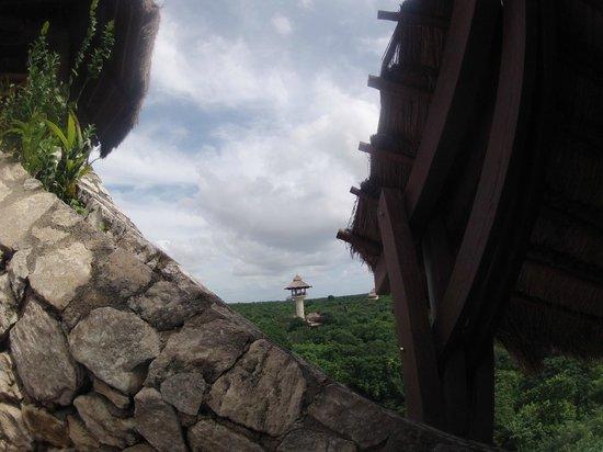 Xplor Park: zipline veiw