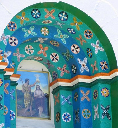 Cielo y Tierra Private Day Tours: John the Baptist is the main man in Chamula.