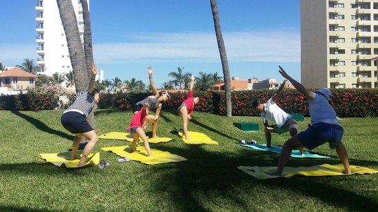 Sea Garden Mazatlan: Yoga class