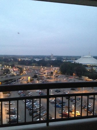 Bay Lake Tower at Disney's Contemporary Resort : MK view from our 2 bedroom