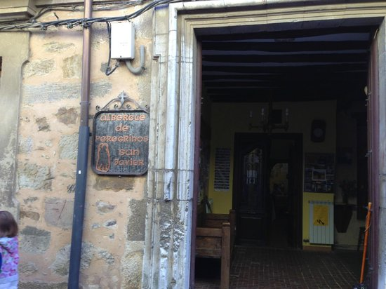 Albuerque San Javier: The entrance tells you that you are experiencing history !