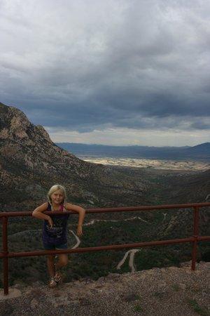 Coronado National Memorial : Over the edge Montezumas pass