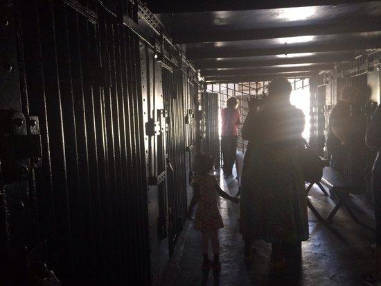 Old Jail: Jail cells