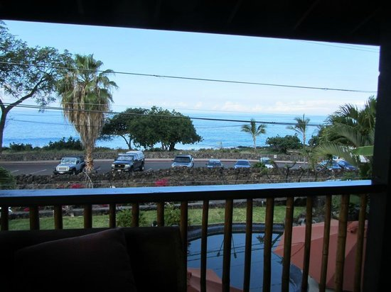 Kona Sugar Shack: View from the lanai