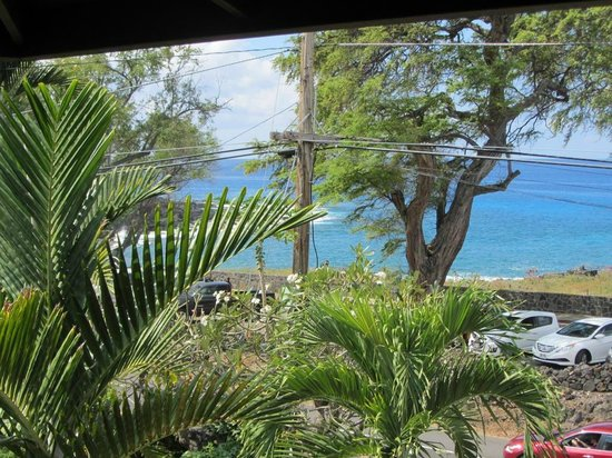 Kona Sugar Shack: Looking left from lanai