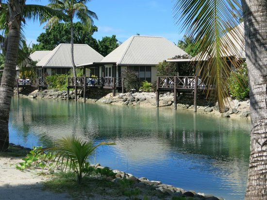 Musket Cove Island Resort: Lagoon Bures