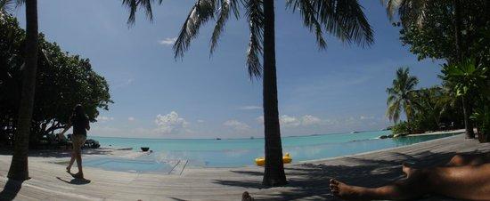Taj Exotica Resort & Spa: piscina e praia