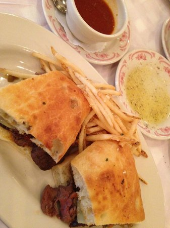 Maggiano's Little Italy: Shaved Italian Beef Sandwhich