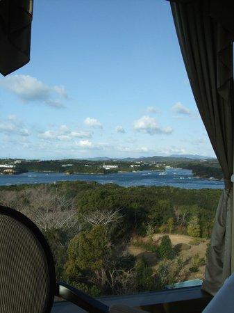Shima Kanko Hotel the Bay Suites: 朝の食堂「ラ・メール」からの眺め
