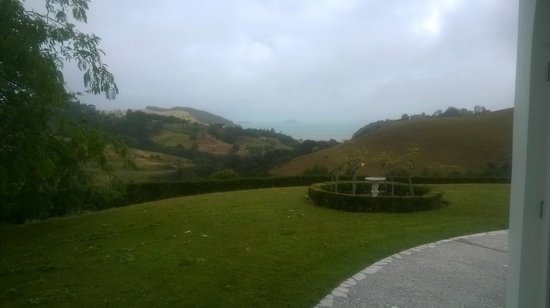 "Matakana Castle: View from the ""Writing Room"""
