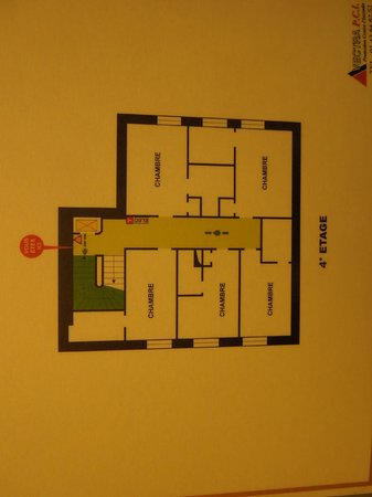 Royal Phare Hotel : 見取り図