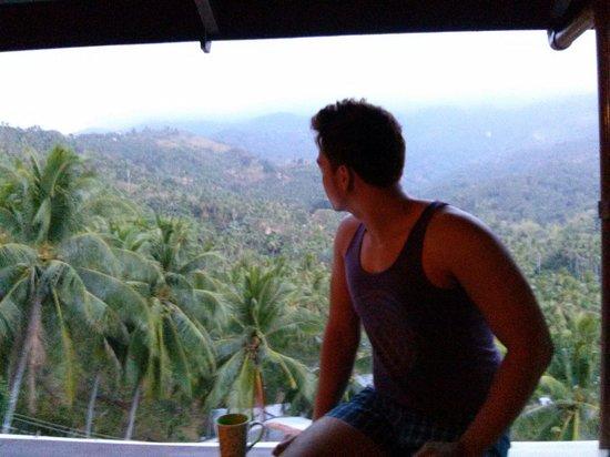 Tribal Hills Mountain Resort: from the room veranda...