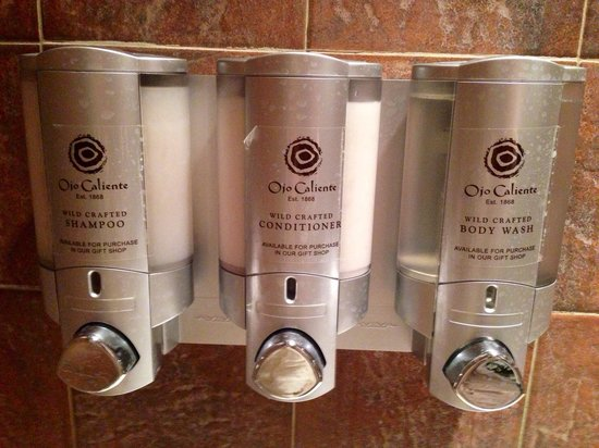 Ojo Caliente Mineral Springs Resort and Spa: Shampoo in the shower.