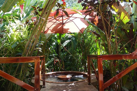 Nayara Resort Spa & Gardens: Secluded hot tub (not in room)