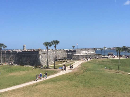 Colonial Quarter: View from the watch tower