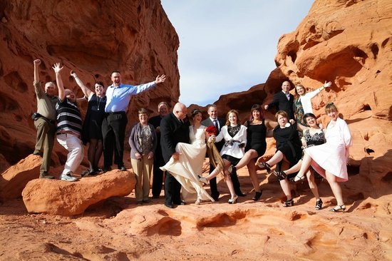 Vegas Weddings: After the ceremony at Valley of Fire