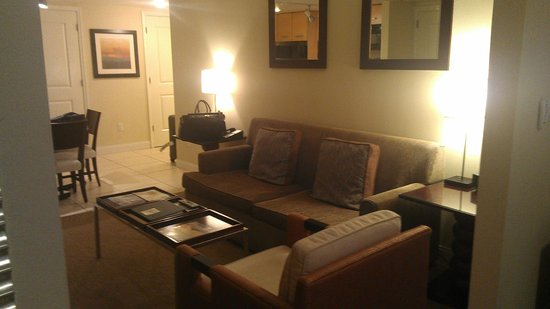 Residence Inn Fort Lauderdale Intracoastal/Il Lugano: comfortable couch