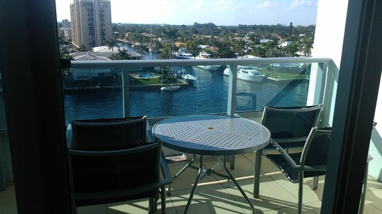 Residence Inn Fort Lauderdale Intracoastal/Il Lugano: balcony