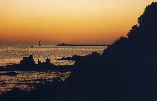 Little Corona Beach: Sunset from Little Corona
