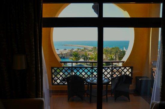 Hilton Ras Al Khaimah Resort & Spa: From the bedroom.