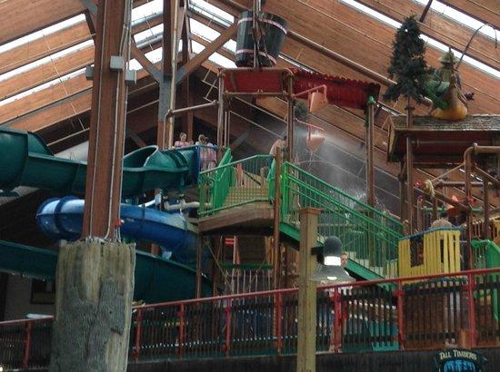 Six Flags Great Escape Lodge & Indoor Waterpark: splash pad