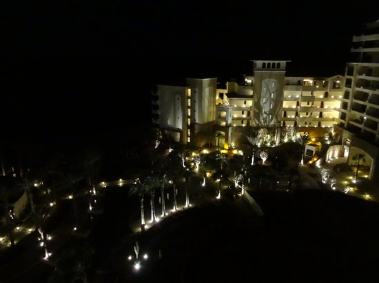 Grand Solmar Land's End Resort & Spa : view from room at night
