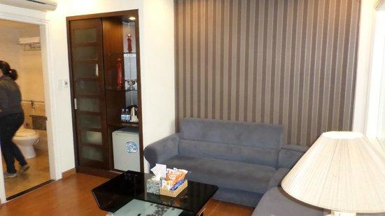 Art Trendy Hotel: Sitting room