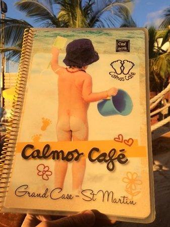 Calmos Cafe : la carte maison