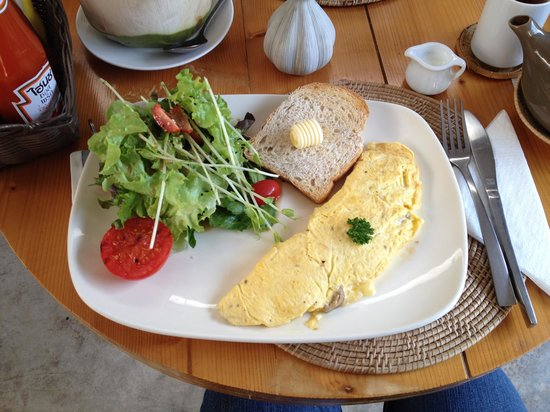 Early Bird Bed & Breakfast : Delicious breakfast
