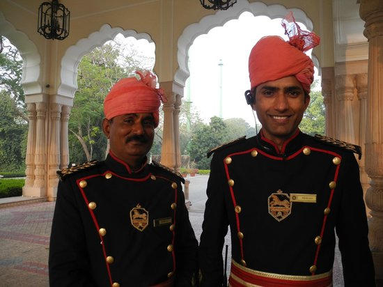Rambagh Palace: Polite, helpful staff ... with a smile