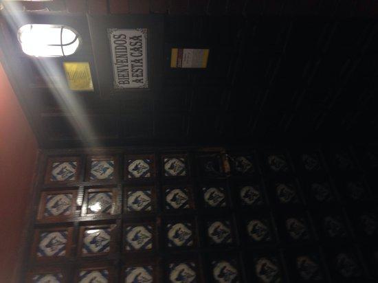 Casa Romero: Entrance