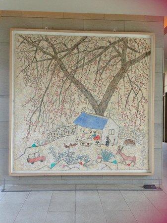O'Sulloc Tea Museum: Lukisan yang ada di museum